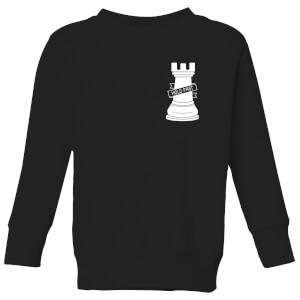 Hold Fast Pocket Print Kids' Sweatshirt - Black