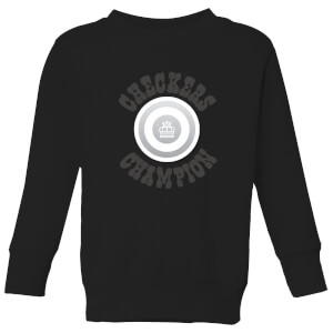 Checkers Champion White Checker Kids' Sweatshirt - Black