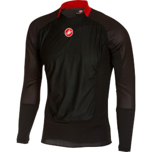 Castelli Prosecco Wind Long Sleeve Baselayer - Black