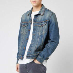 Nudie Jeans Men's Jerry Denim Jacket - Dark Worn