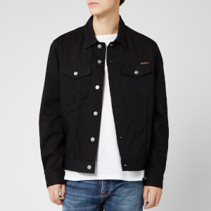 Nudie Jeans Men's Jerry Denim Jacket - Dry Black Twill