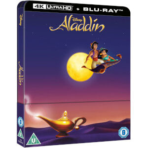 Aladdin 4K Ultra HD - Zavvi Exklusives Edition SteelBook (Inkl. 2D Blu-ray)