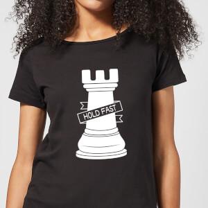 Rook Chess Piece Women's T-Shirt - Black