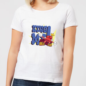 King Me! Checker Women's T-Shirt - White