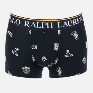Polo Ralph Lauren Men's Print Single Trunks - Cruise Navy Collegiate Print