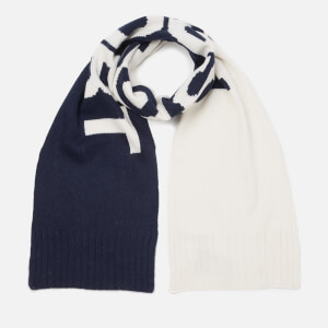 Polo Ralph Lauren Men's Polo Sport Scarf - Cream/Navy