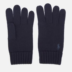 Polo Ralph Lauren Men's Merino Gloves - Piper Navy