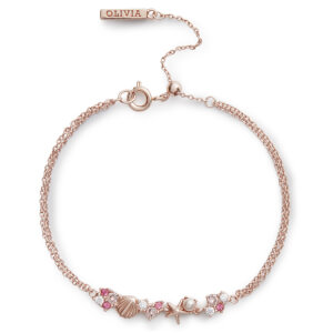 Olivia Burton Women's Under The Sea Chain Bracelet - Rose Gold
