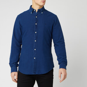 Polo Ralph Lauren Men's Garment Dyed Slim Fit Shirt - Indigo