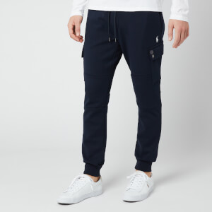 Polo Ralph Lauren Men's Double Knit Tech Cargo Sweatpants - Navy
