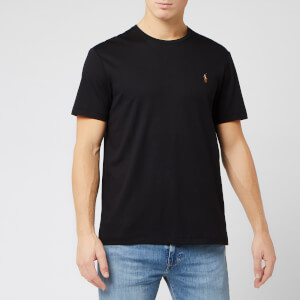 Polo Ralph Lauren Men's Short Sleeve Pima Soft Touch T-Shirt - Black