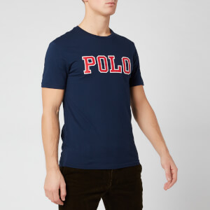 Polo Ralph Lauren Men's Polo Script T-Shirt - Navy