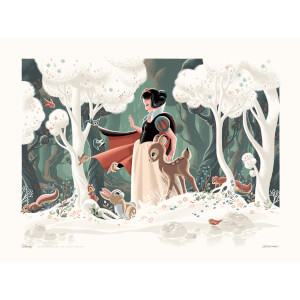 Disney Snow White and the Seven Dwarfs Giclee Print - Limited Edition