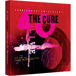 THE CURE: 40 LIVE - CURÆTION-25 + ANNIVERSARY Deluxe Box (Includes 2 Blu-rays & 4 CDs)