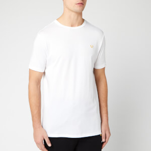 True Religion Men's Metal Horseshoe Crew T-Shirt - White