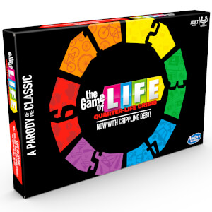 Hasbro The Game of Life Board Game - Quarter Life Crisis
