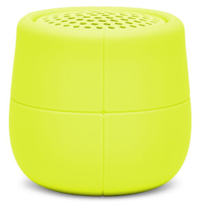Lexon MINO X Water Resistant Bluetooth Speaker - Acid Yellow