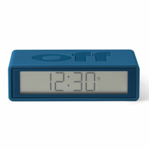 Lexon FLIP+ Alarm Clock - Rubber Duck Blue