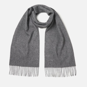Barbour Women's Lambswool Woven Scarf - Mid Grey