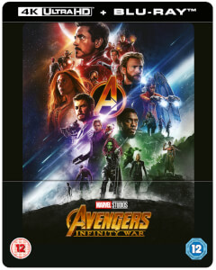 Avengers Infinity War 4K Ultra HD (Includes 2D Blu-ray) - Zavvi Exclusive Lenticular Steelbook