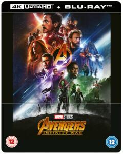 Avengers Infinity War 4K Ultra HD (Includes 2D Blu-ray) - Zavvi UK Exclusive Lenticular Steelbook