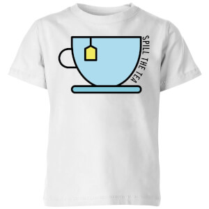 Cooking Spill The Tea Kids' T-Shirt