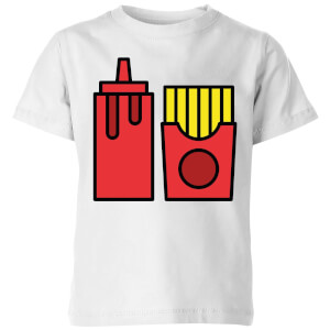 Cooking Ketchup And Fries Kids' T-Shirt