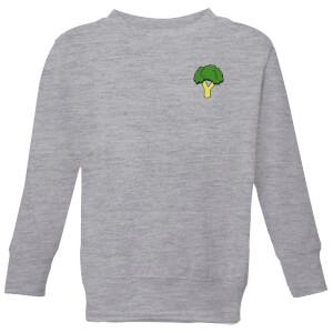 Cooking Small Broccoli Kids' Sweatshirt