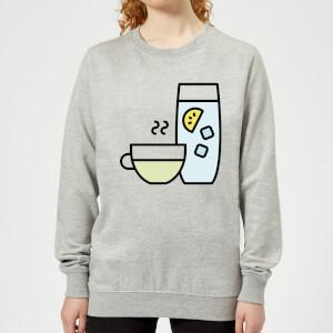 Cooking Cup Of Tea And Water Women's Sweatshirt
