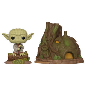 Star Wars Empire Strikes Back Yoda's Hut Funko Pop! Town