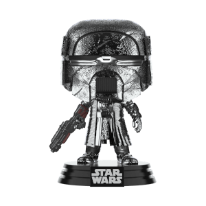 Star Wars: Rise of the Skywalker Knights of Ren Blaster (Hematite Chrome) Funko Pop! Figuur