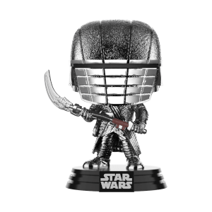 Star Wars: Rise of the Skywalker Knights of Ren Scythe (Hematite Chrome) Funko Pop! Figuur