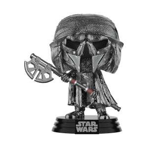 Star Wars: Rise of the Skywalker Knights of Ren Axe (Hematite Chrome) Funko Pop! Figuur