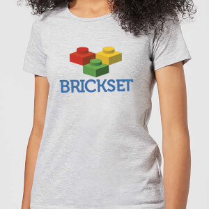 Brickset Logo Women's T-Shirt - Grey