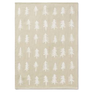 Ferm Living Christmas Tea Towel - Sand