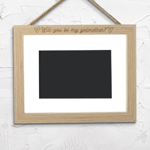 Will You Be My Godmother? Landscape Frame