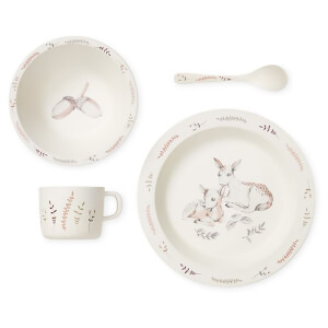 Cam Cam Bamboo Dinnerware Set - Forest Theme