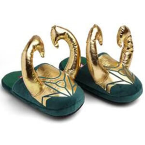 Marvel Loki Horned Slippers