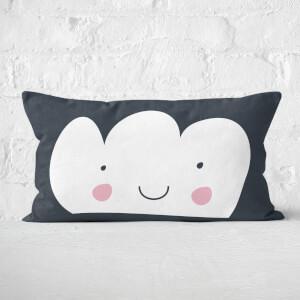 White Cloud Rectangular Cushion