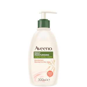 Aveeno Daily Moisturising Yogurt Body Cream Apricot & Honey Scent 300ml