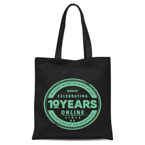 Zavvi 10 Year Stamp Tote Bag
