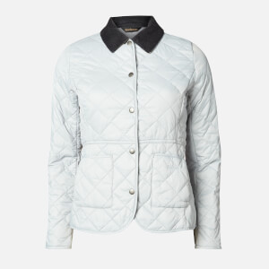 Barbour Women's Deveron Quilt Jacket - Ice White