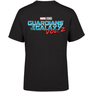 Marvel 10 Year Anniversary Guardians Of The Galaxy Vol. 2 Men's T-Shirt - Black