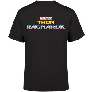 Marvel 10 Year Anniversary Thor Ragnorok Men's T-Shirt - Black