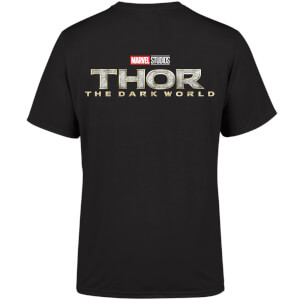 Marvel 10 Year Anniversary Thor The Dark World Men's T-Shirt - Black