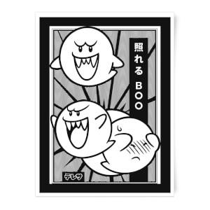 Nintendo Original Hero Boo A2 Giclee Print