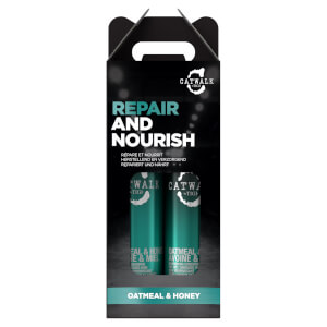 TIGI Catwalk Oatmeal & Honey Nourish Shampoo and Conditioner - Pack of 2 (Worth £29.90)