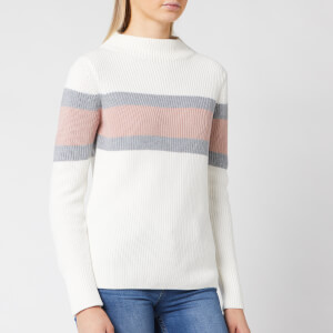 Barbour International Women's Strike Knit Jumper - Off White