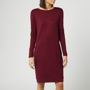 Barbour International Women's Shuttle Dress - Dark Rhubarb