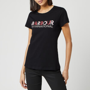 Barbour International Women's Hattrick Short Sleeve T-Shirt - Black